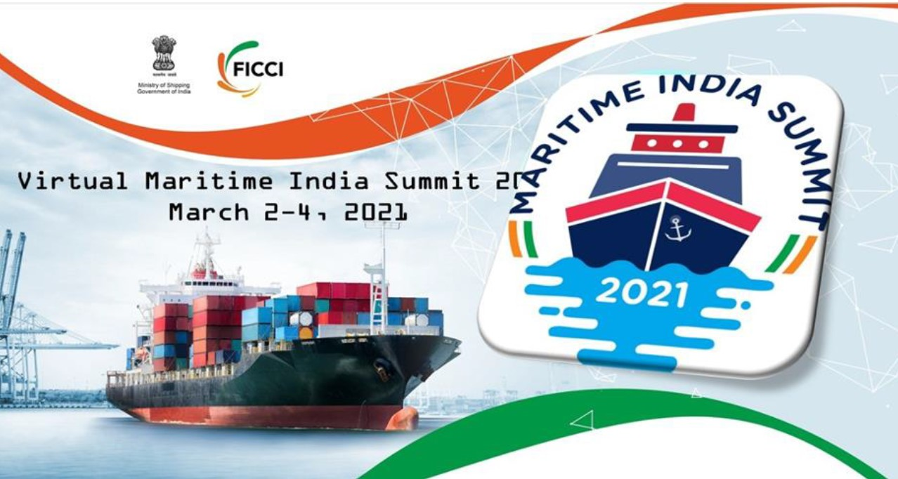 Virtual Maritime India Summit March 2-4, 2021