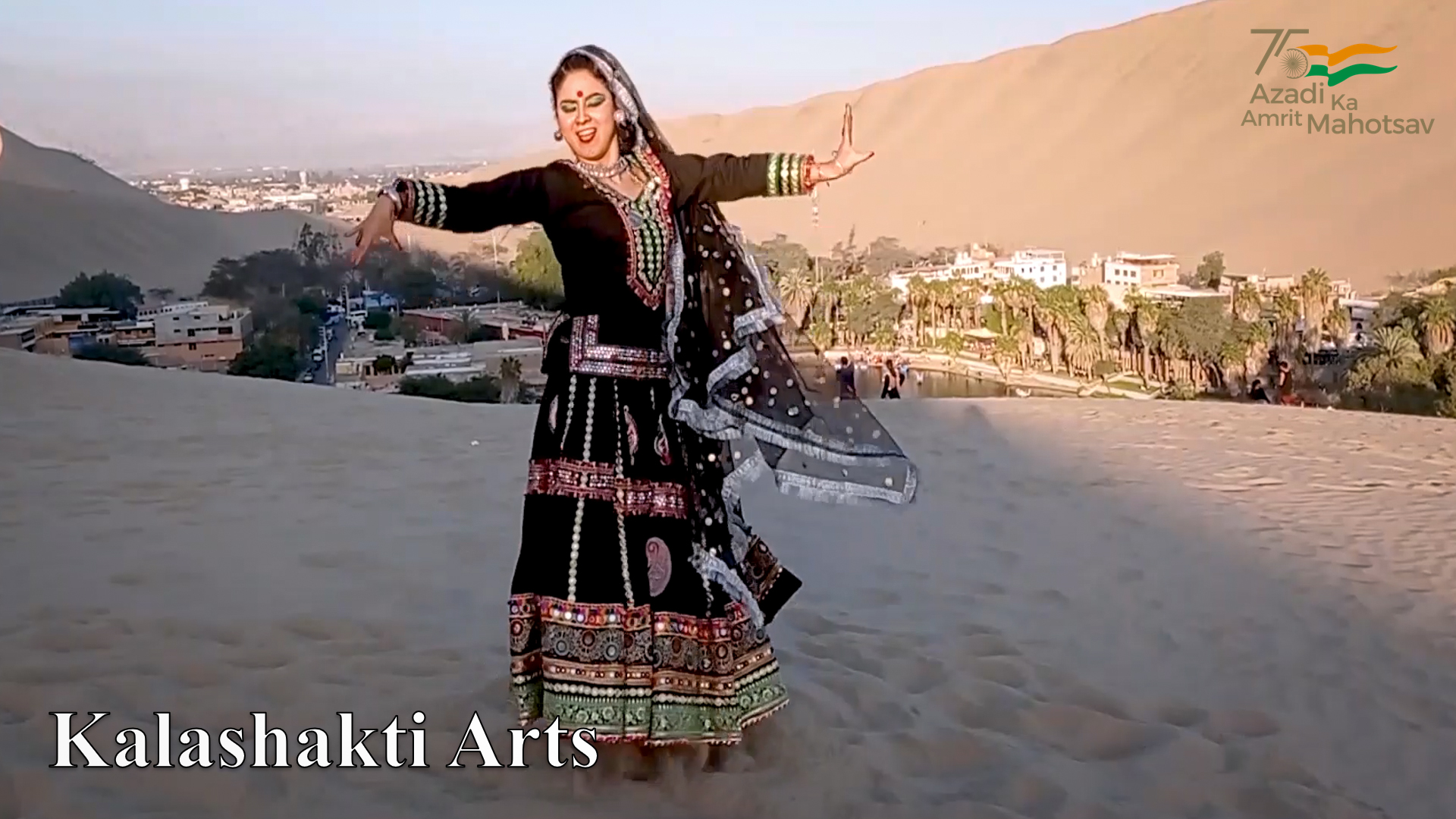 Azadi Ka Amrit Mahotsav : Independence Day 2021 celebrations in Peru and Bolivia : Expression of love, respect and attachment for India through cultural performance of highly talented artists from Peru and Bolivia.