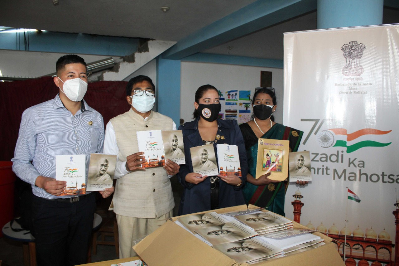 Gifting of learning materials to local communities to mark Gandhi Jayanti